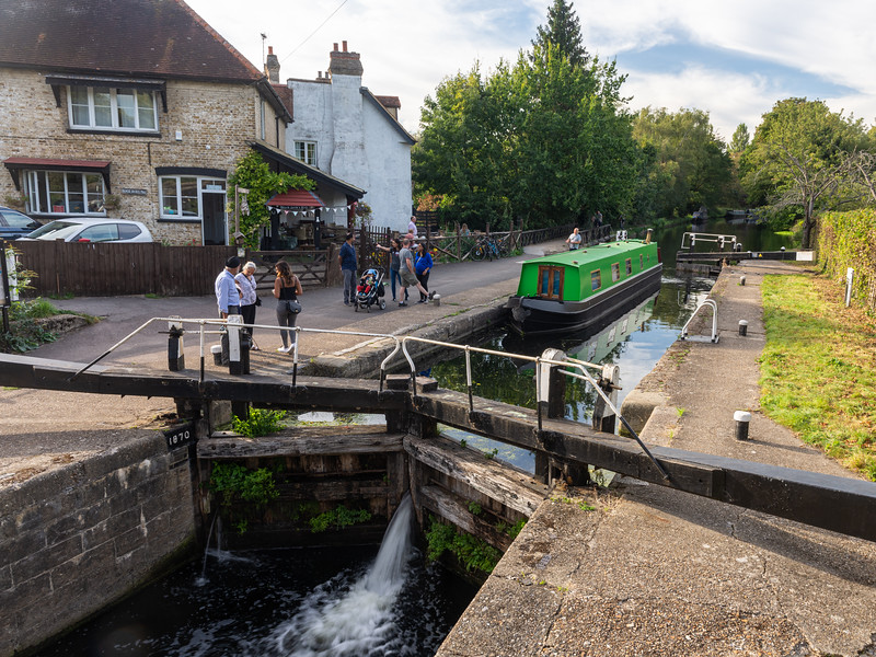 Black Jack's Lock on the Grand Union Canal