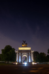 Wellington Arch at Hyde Park Corner