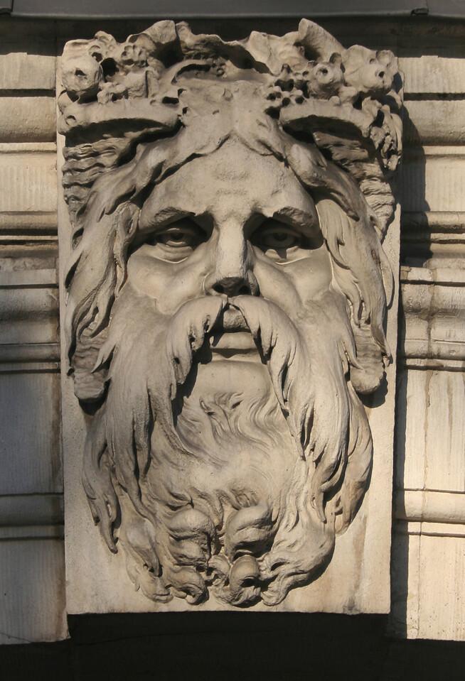 Sculpture, Somerset House.