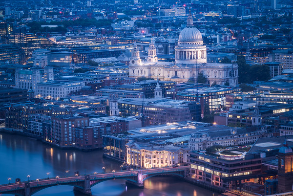 St Paul's Blue Hour