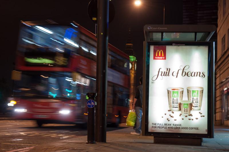 London night bus