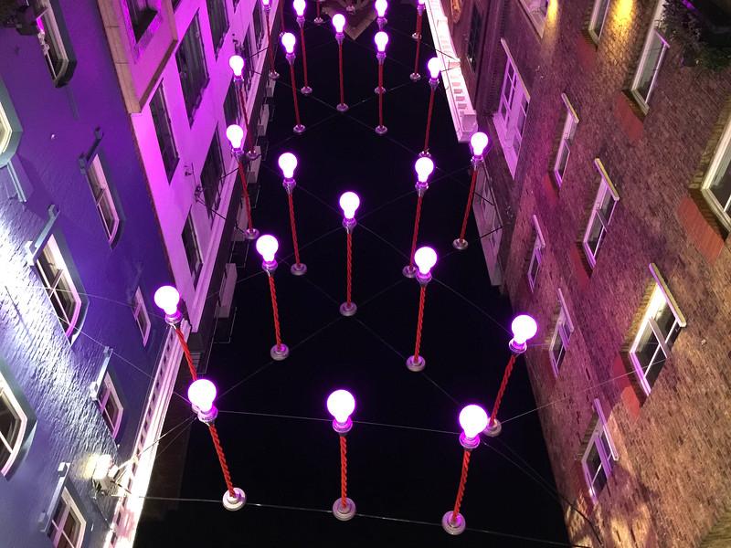 Ganton Street Light Art Installation. 2016.