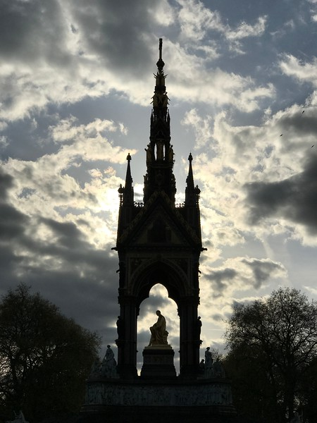 The Albert Memorial in Kensington Gardens. 2017.
