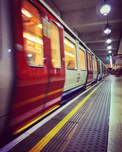 Gloucester Road Tube Station. 2016.