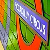 London, Piccadilly Circus, underground station