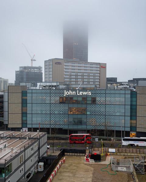 John Lewis store at Westfield Stratford