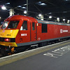 90018 after arriving with the Caledonian sleeper at London Euston on 28th Jan 2013