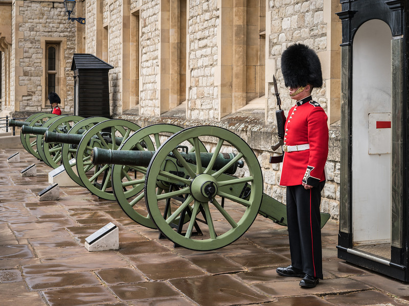 Tower of London, Guarding the Crown Jewels