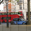 Double Decker bus and mini car