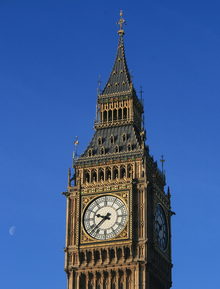 Elizabeth Tower, Palace of Westminster.