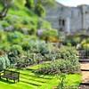 Bench and Garden, Windsor Castle