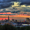 London Shyline Sunset