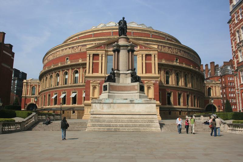 The Royal Albert Hall.