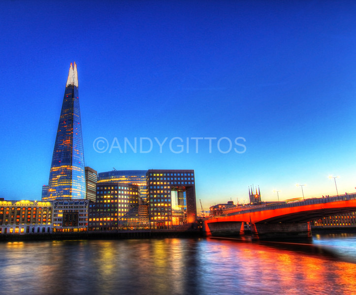 The Shard and London Bridge