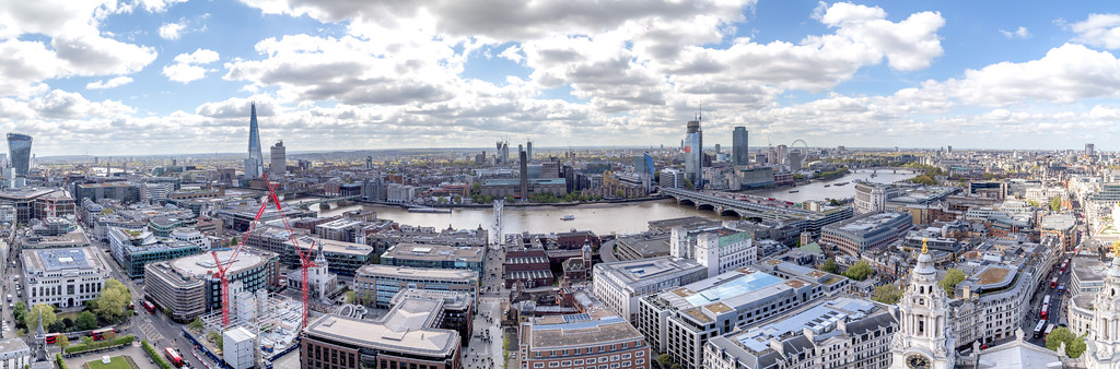 Pano two from St Paul's