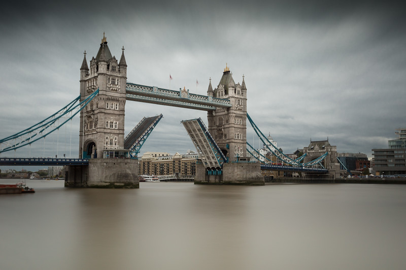 Tower Bridge - open for business