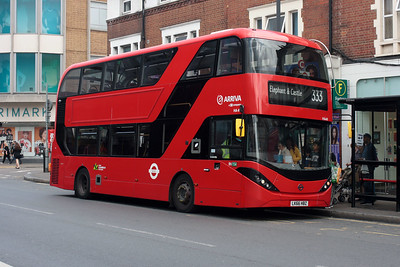 HA 49-LK66 HBZ on the Mitcham Road, Tooting.