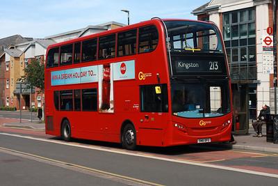 E 227-SN61 DFG in Sutton Town Centre.