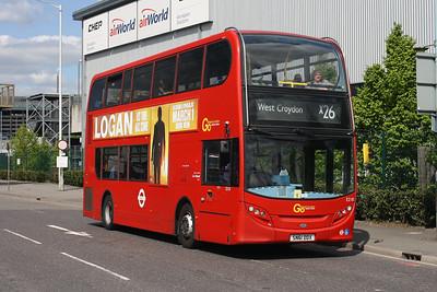 E 218-SN61 DDX at Hatton Cross, London Heathrow.