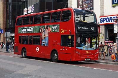E 208-SN61 DCZ in Bromley Town Centre.