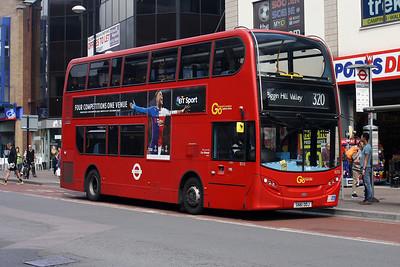 E 212-SN61 DDJ in Bromley Town Centre.