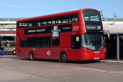 45273-LF18 AXS at Heathrow Central Bus Station.