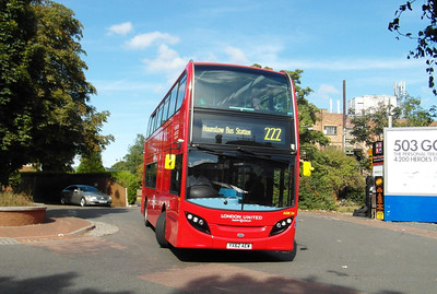ADE24 - YX62AEW - West Drayton (railway station) - 22.9.12