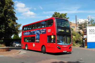ADE27 - YX12FOP - West Drayton (railway station) - 22.9.12