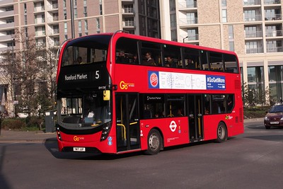 London Bus Routes (Update 13.08.2018)