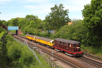 Sarah Siddons+L27+L24 on the 0958 Ruislip Depot to Acton Works at Ruislip on the 22nd May 2017