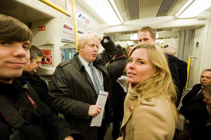 "Boris Johnson, Mayor of London and future Prime Minister of the United Kingdom.<br><span style=""font-size:75%"">©Yangchen Lin</span>"