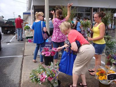 wisteria flowers-farmers market