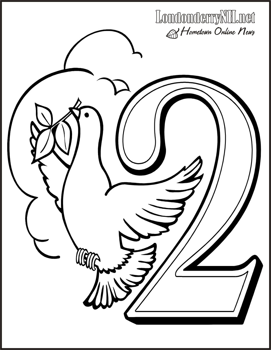 The Twelve Days of Christmas History and Coloring Book Pages ...