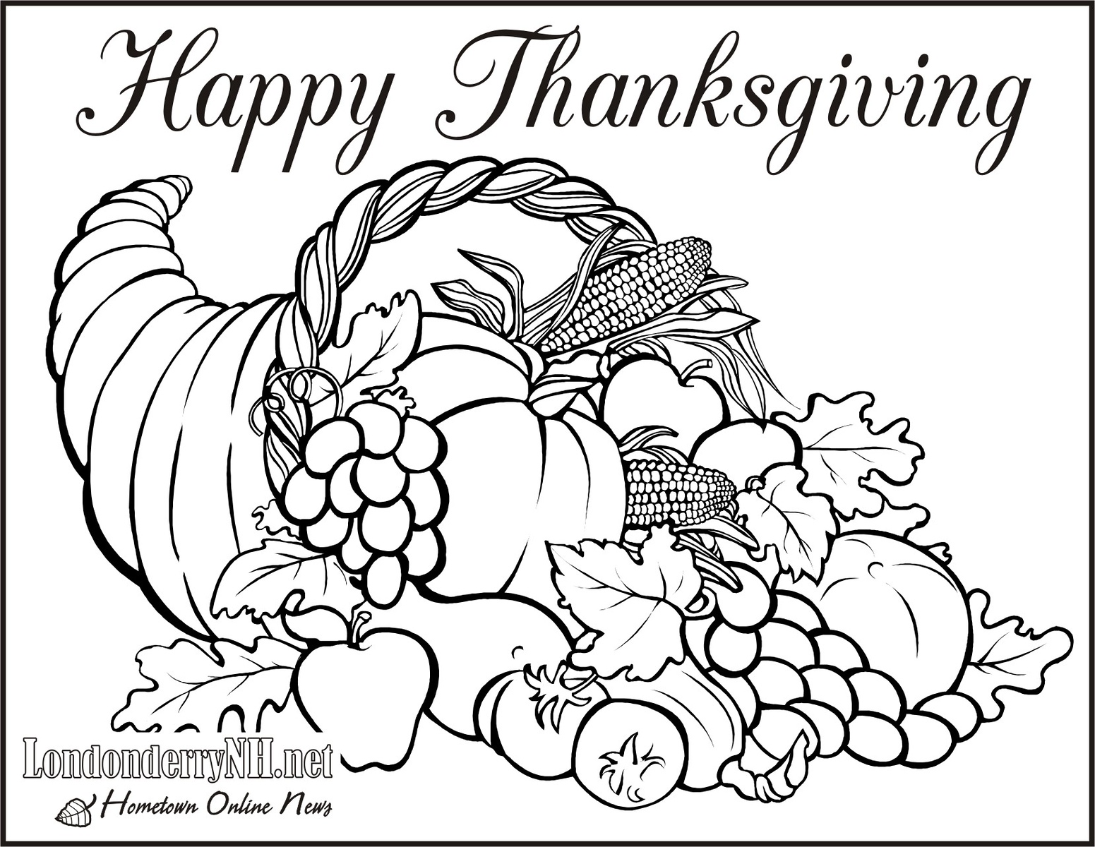 keep the kids busy this thanksgiving with free coloring pages - Coloring Worksheets For Middle School