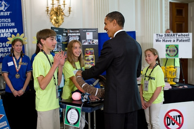 Inventioneers Meet with President Obama