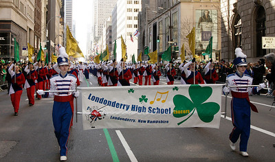 band with banner