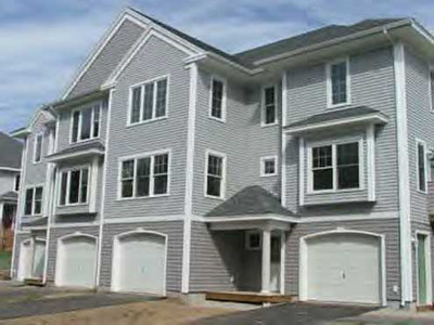 Watson Woods, Exeter, NH 28 unit mixed income townhouses in 6 multifamily buildings. Developed by Chinburg Builders, Inc. Prices range from $200,000 to $300,000.