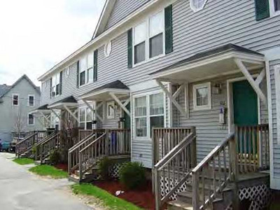 Three Corners, Manchester NH. 21 rental units developed by NeighborWorks Greater Manchester. Income restricted to persons with incomes between $24,400 to $43,725. Rents: $610 to $670 per month plus utilities.