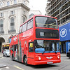 London City Tour KV02URT Piccadilly Circus London Feb 17