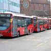 Arriva London SLS13 Croydon Bus Station 3 Feb 17