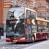 Big Bus London DA213 Victoria Embankment London Feb 17