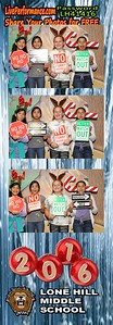 Lone Hills M.S. 2016 Christmas Dance - Photo Strips