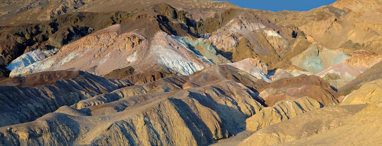 The Artist's Palette along Artist's Drive, Death Valley.