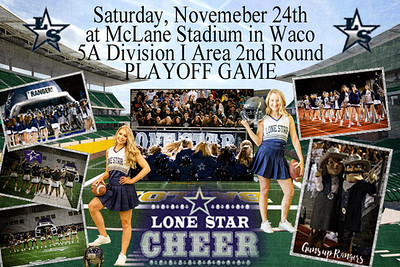 LSHS vs. Lufkin HS - 5A Division I Area 2nd Round Playoff Game 2018