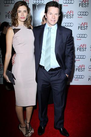 Mark Wahlberg & Wife