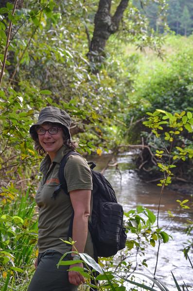 Hippo trail at Mlilwane