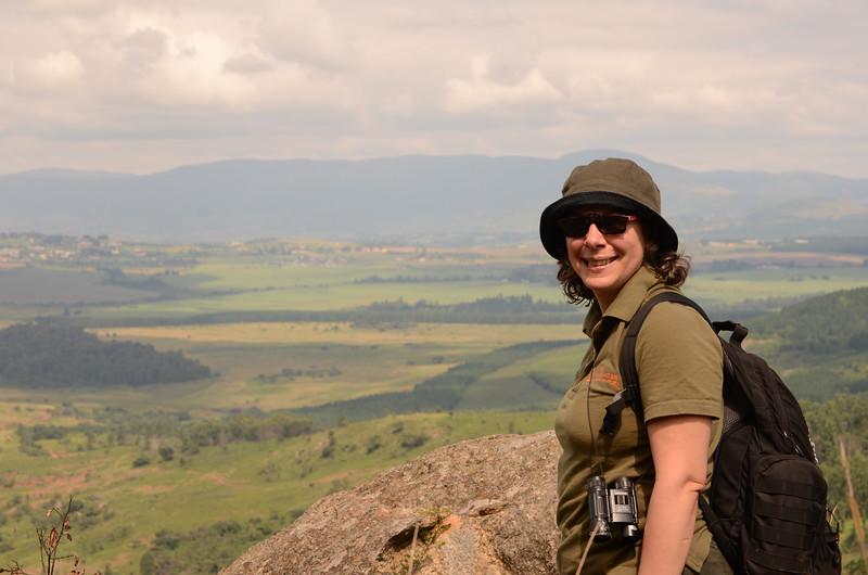 top of Nyonyane Mountain , Mlilwane