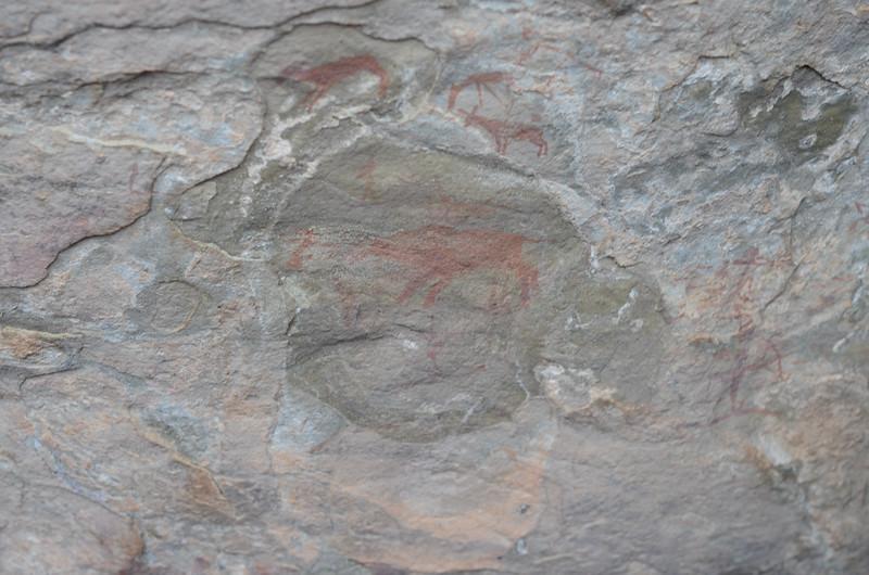 San bushman rock paintings