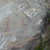 San bushman rock paintings