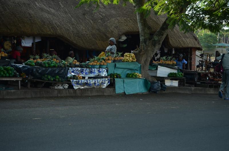 Fruit stall St Lucia